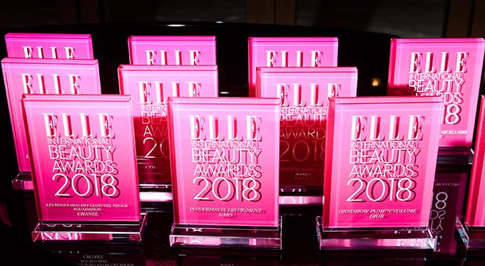 Торжественная церемония вручения премии ELLE International Beauty Awards 2018