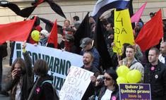 Гей-парад в Белграде закончился побоищем