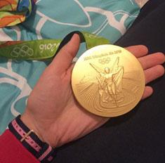 Первое золото Рио привезет в Новосибирск Юлия Гаврилова