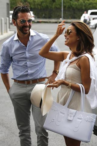 Ева Лонгория и Хосе Антонио Бастон фото