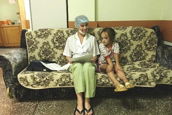 Юлия Беретта в драме «Маняшино озеро»
