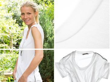 Гвинет Пэлтроу (Gwyneth Paltrow) придумала дизайн футболки