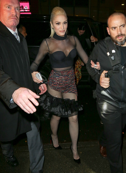 Гвен Стефани на вечеринке в Нью-Йорке