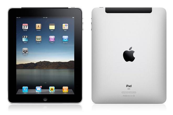 Главная особенность iPad – сенсорный экран, реагирующий на прикосновения пальцев.