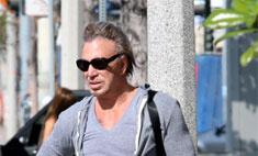 61-летний Рурк носит лосины