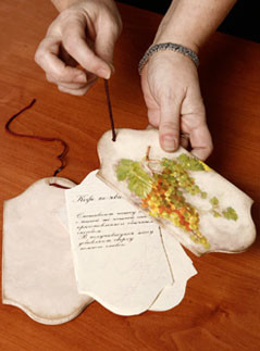 винтаж, декупаж, мастер-класс, подарки, 8 Марта, своими руками, подарки кулинару, книга рецептов, рецепты, своими руками, рукоделие, ретро