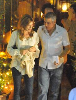 Джордж Клуни (George Clooney) и Элизабетта Каналис (Elisabetta Canalis)