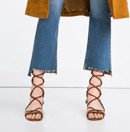 Босоножки Zara, фото