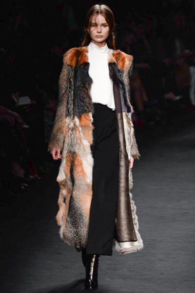 Неделя моды в Париже: показ Valentino ready-to-wear осень — зима 2015-2016 | галерея [1] фото [45]