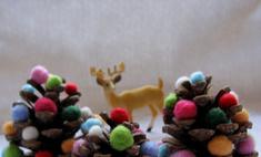 Новогодний декор из шишек: 15 идей