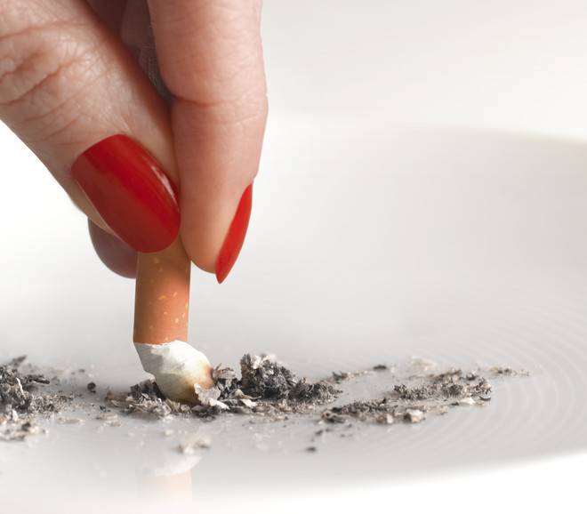 сигарета в молоке