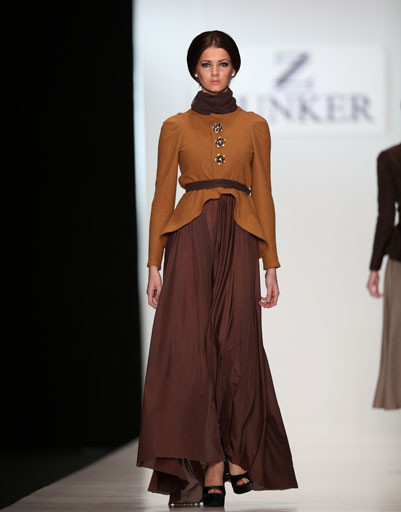 Mercedes-Benz Fashion Week: коллекция Bunker Z весна-лето 2013