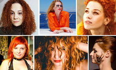 Девушка-огонь: 40 фото рыжих красавиц!