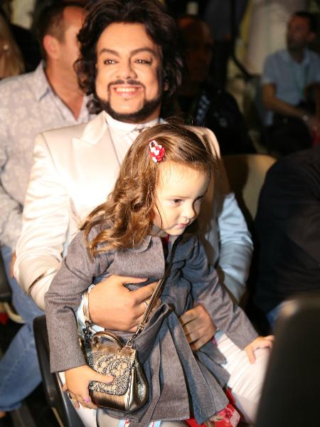 Филипп Киркоров и дочка Алла Виктория фото