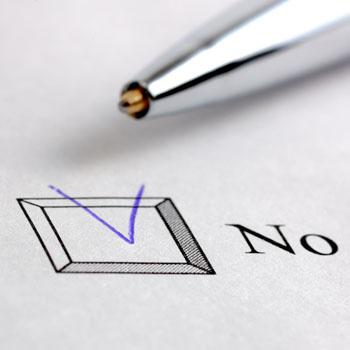 После того, как границы установлены, нужно суметь правильно отказаться от той работы, которую вы выполнять точно не хотите и не будете.