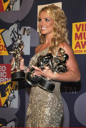 Сразу три награды для Бритни – настоящий триумф