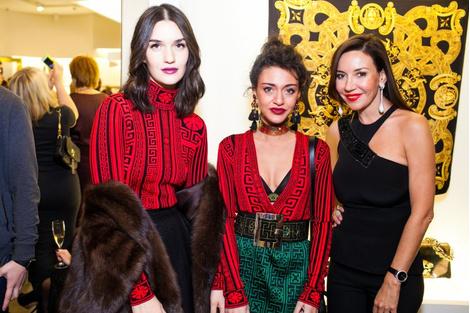 Селебрити на презентации осенней коллекции Versace   галерея [1] фото [8]