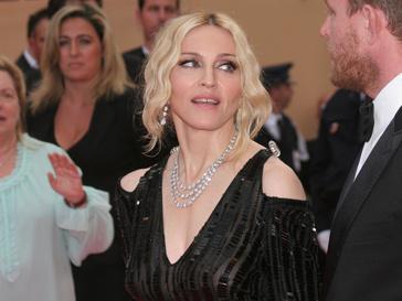 Мадонна на Каннском кинофестивале