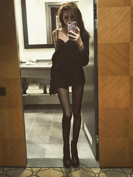 Алеся Кафельникова сильно похудела