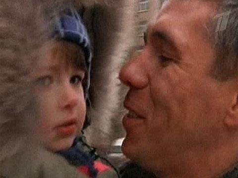 Алексей Панин с дочерью, фото
