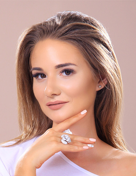 Ксения Казанцева, участница конкурса «Мисс Мегаполис», фото