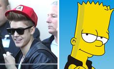 Джастин Бибер станет персонажем сериала «Симпсоны»