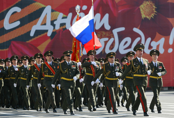 9 Мая парад в Петербурге