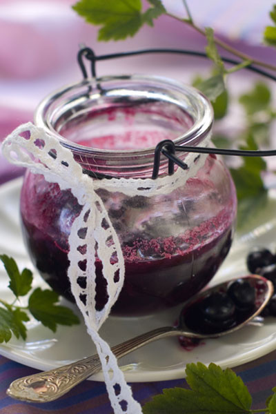Пятиминутка - варенье из черной смородины