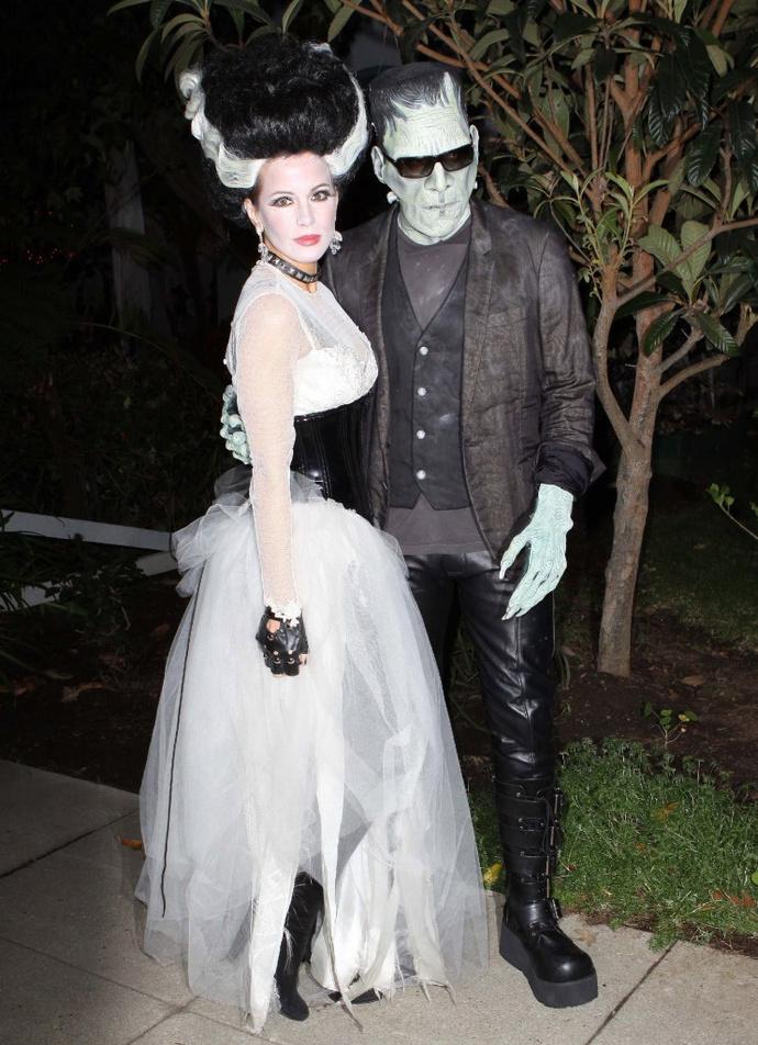 Кейт Бекинсейл с мужем Леном Уайзманом