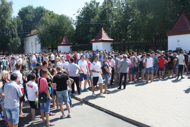 Туляки раскупили билеты на матч Арсенала