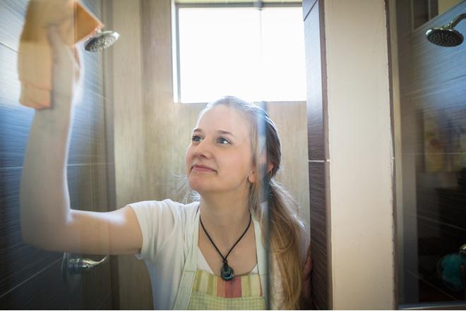 как отмыть стекло