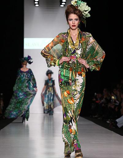 Mercedes-Benz Fashion Week Russia: SLAVA ZAITSEV Pret-a-porter De Luxe, весна-лето 2014