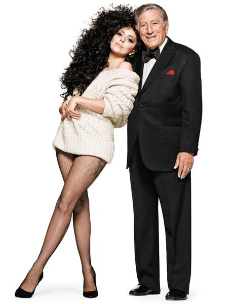 Леди ГаГа и Тони Беннет в рождественской кампании H&M