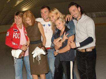 Илья Авербух с коллегами по шоу