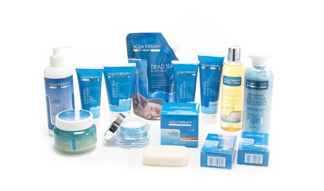В линии Aqua Therapy огромный выбор антивозрастных средств для лица и тела.