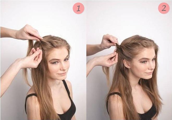 Причёски на длинные волосы на работу