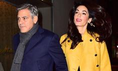 Джорджа Клуни разоряет шопинг жены