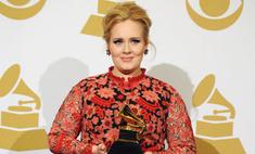 «Грэмми»-2013: Адель приехала на премию в платье из ковра
