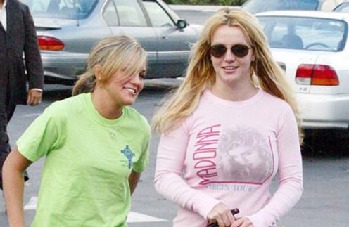 Джейми Линн Спирс (Jamie Lynn Spears) и Бритни Спирс (Britney Spears)