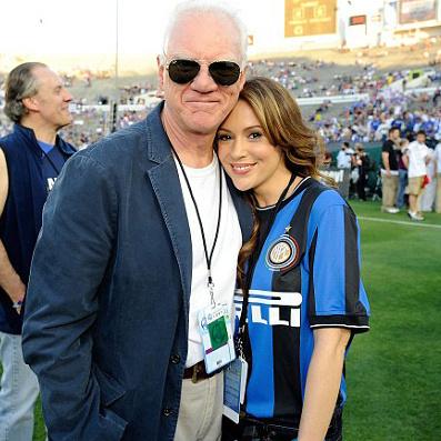 У Алисы Милано есть итальянские корни, поэтому она болела за «Милан»