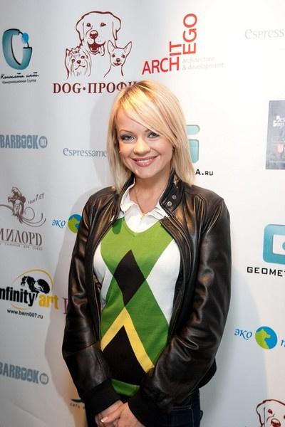 Певица Ирина Ортман.