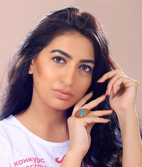 Амалия Аскарова, участница конкурса «Мисс Мегаполис», фото