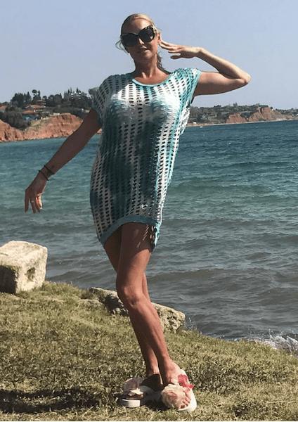 Волочкова в одном и том же платье