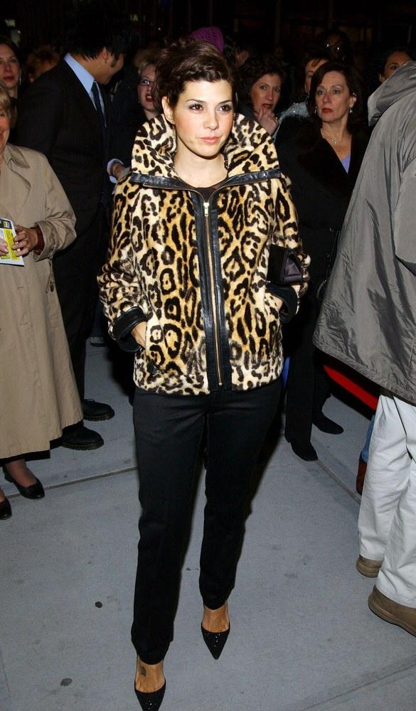 Как носить леопардовое пальто