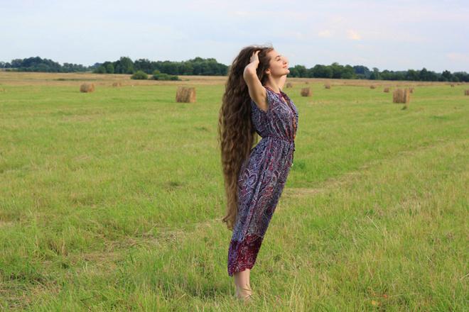 Самые длинные косы фото
