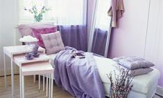 Релакс в доме: интерьер в лавандовом цвете