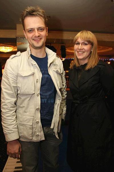 Александр Пушной с женой Татьяной