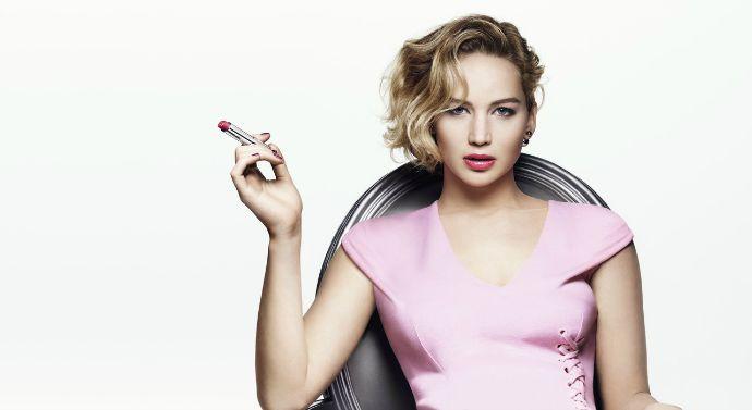Дженнифер Лоуренс - лицо новой линии макияжа Dior Addict