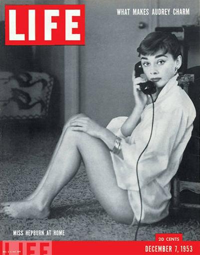 Одри Хепберн на обложке LIFE