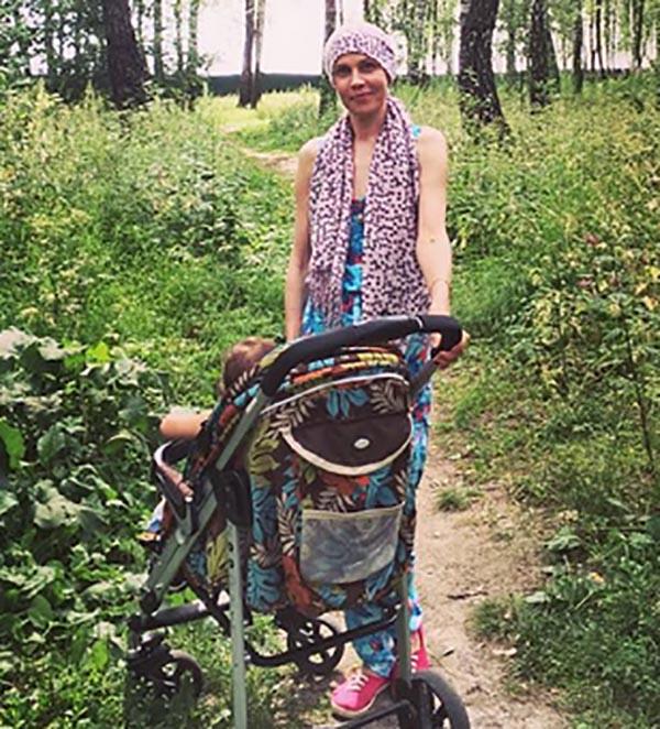 Светлана Устиненко, мама Алианы Гобозовой